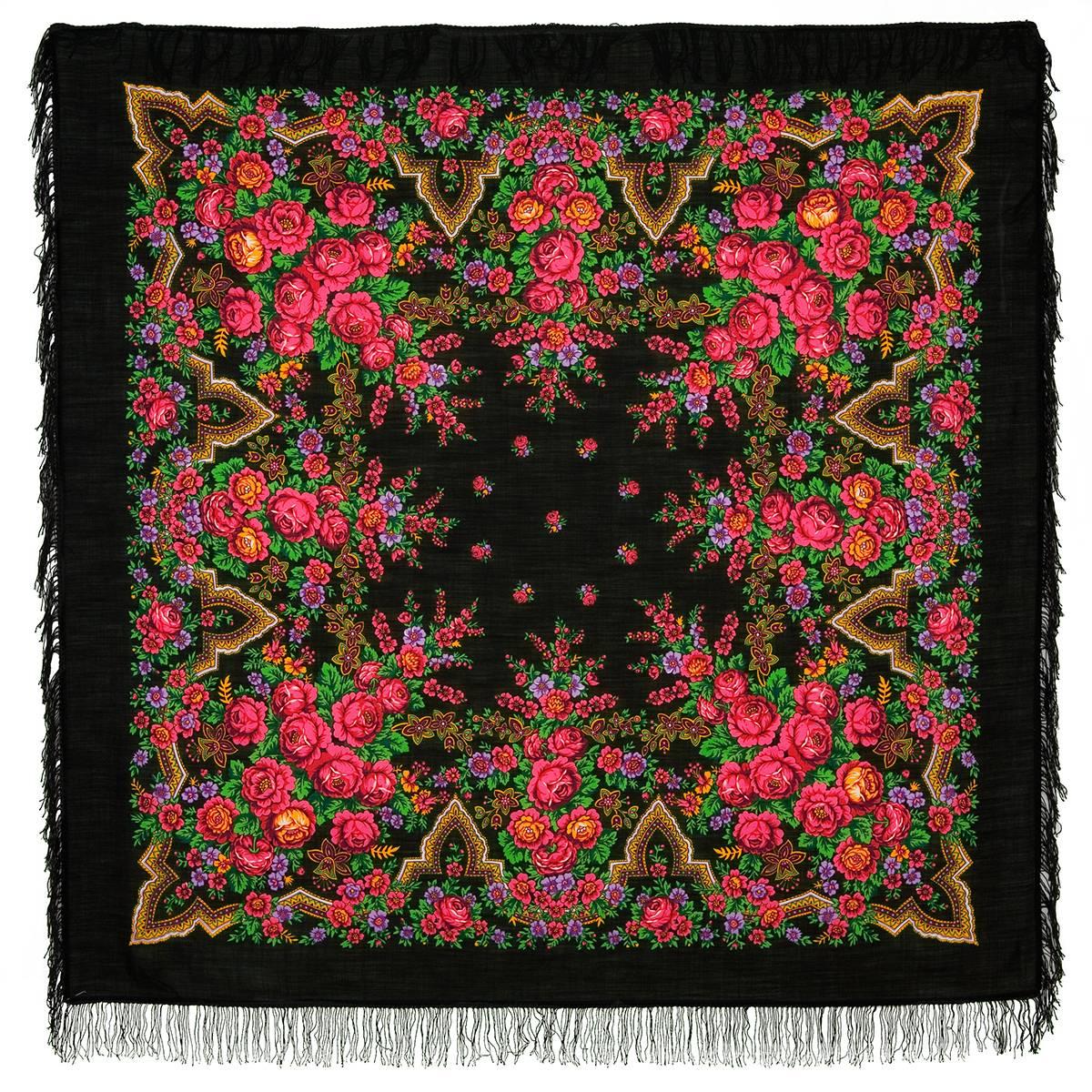 поделитесь фото павлопосадские шали и платки неоткрытый