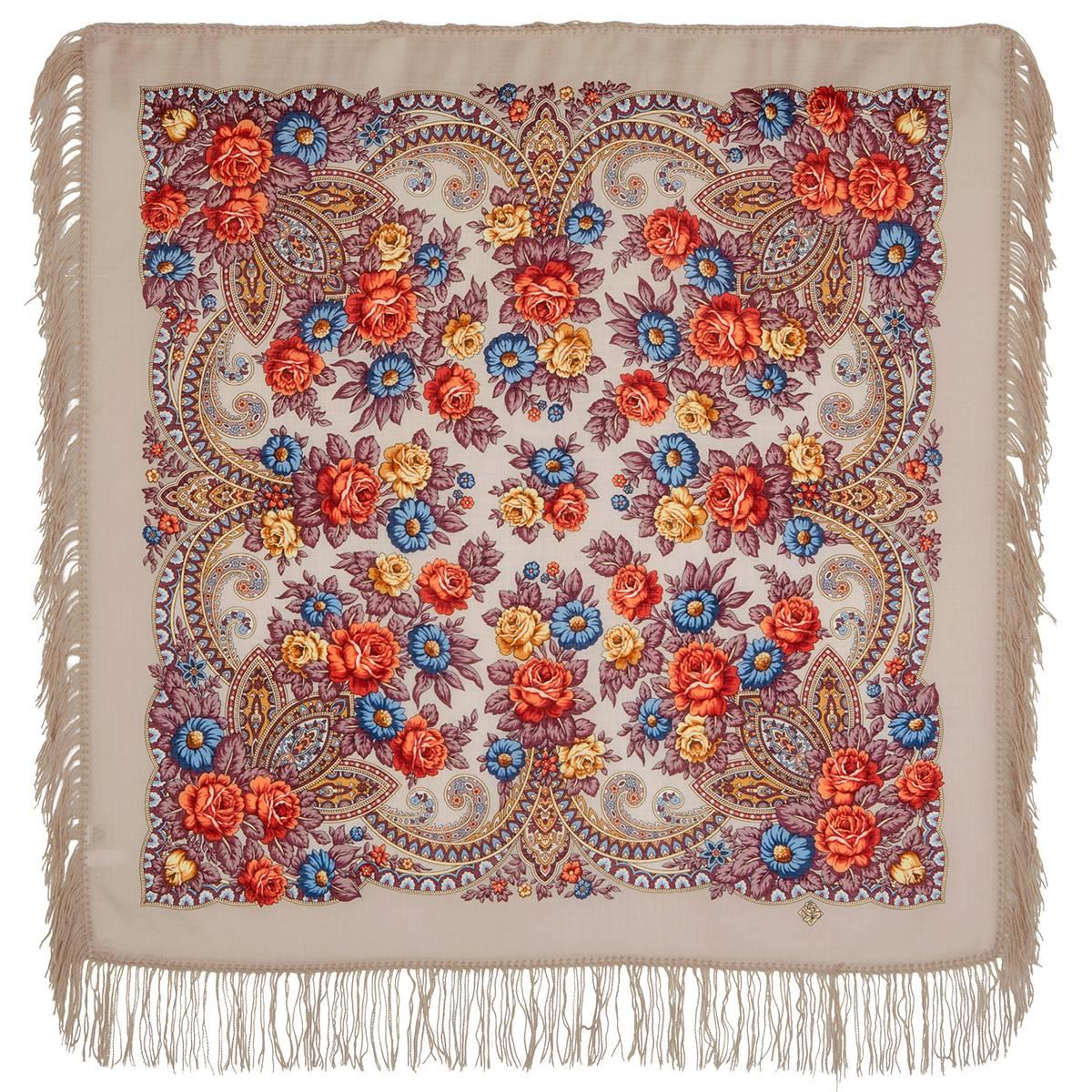 платок павлово посадского картинки