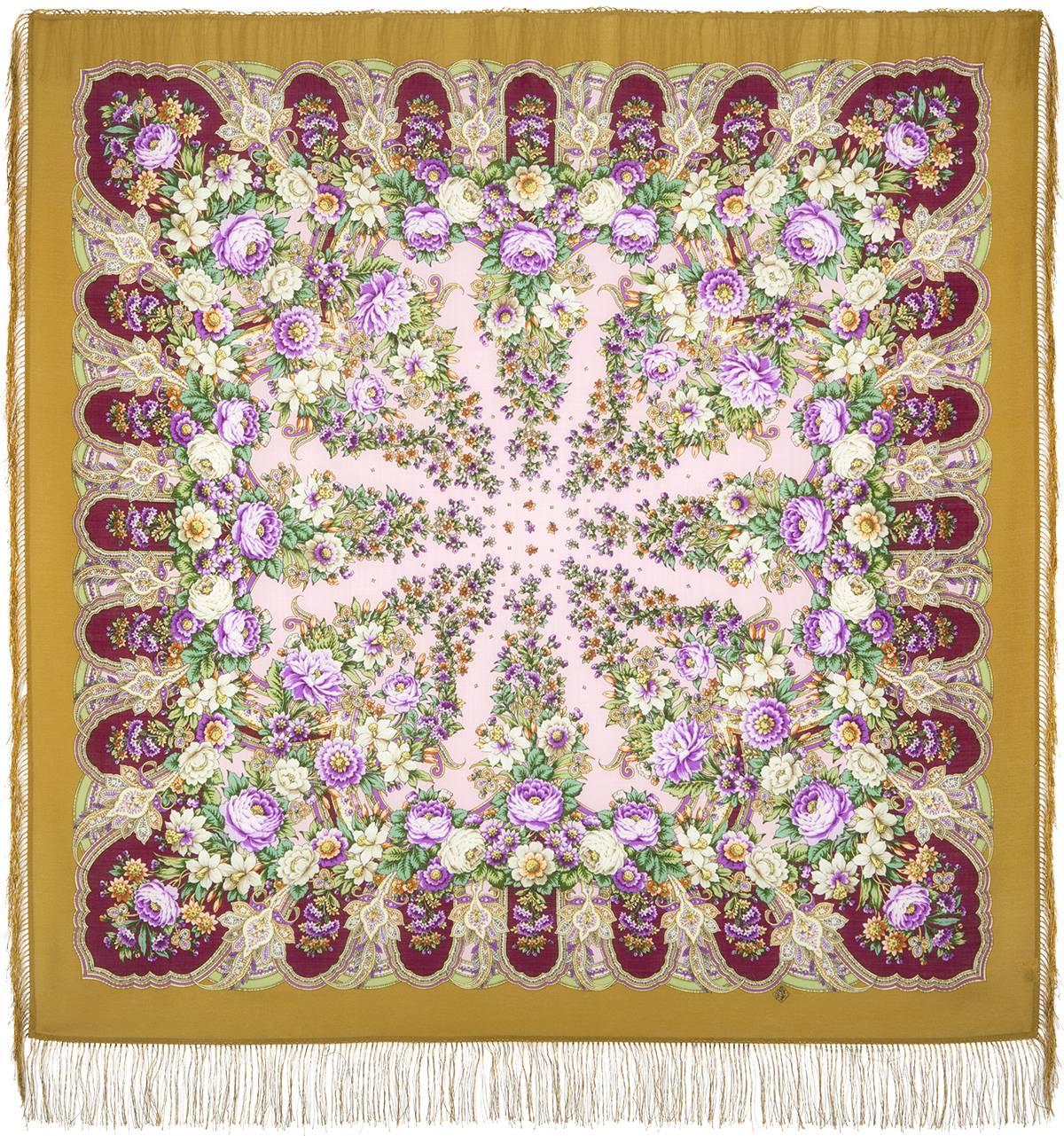 Павловопосадский платок «Лукоморье» 1555-1